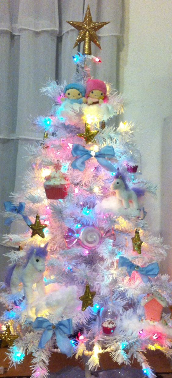 Unicorn Christmas tree.