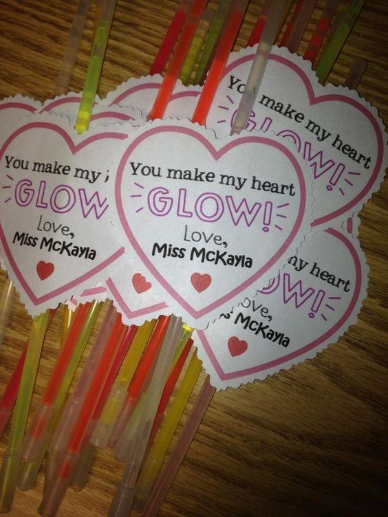 Glow Sticks #valentinesforkids