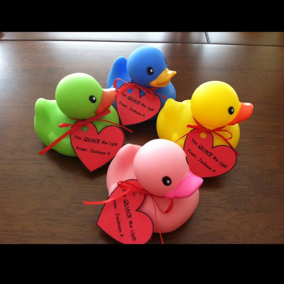 Rubber Ducks #valentinesforkids