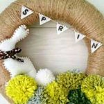 Easy DIY Easter Wreaths for Front Door