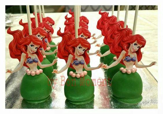 Ariel Cake Pop