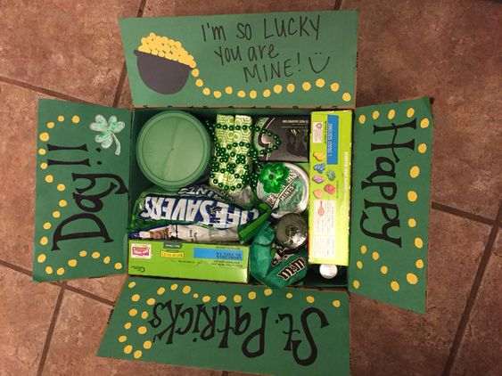 St. Patrick's Day care package