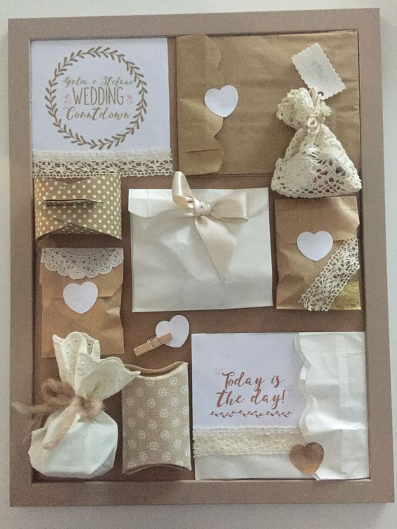 Wedding Countdown Wedding Advent Calendar