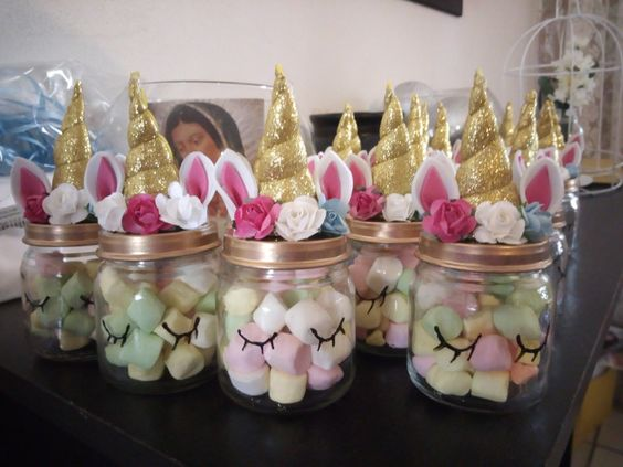 Marshmallow Treat Jars