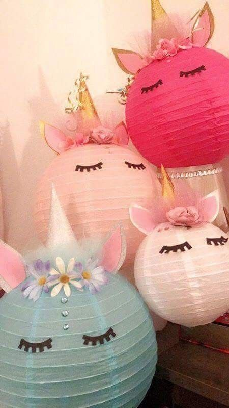 Unicorn Lanterns