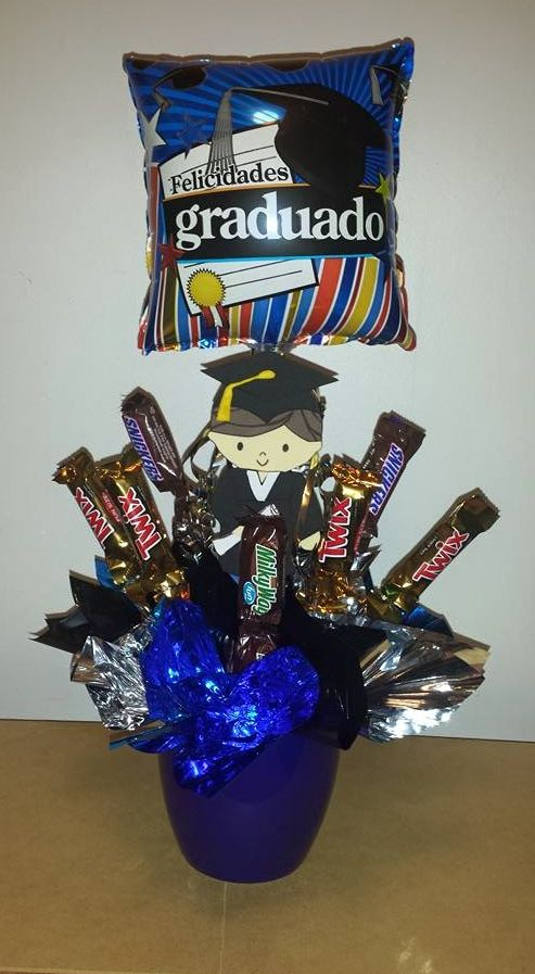 Graduation Candy Bouquet