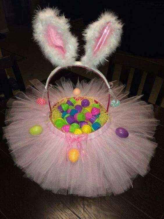 Tutu Bunny Easter Basket
