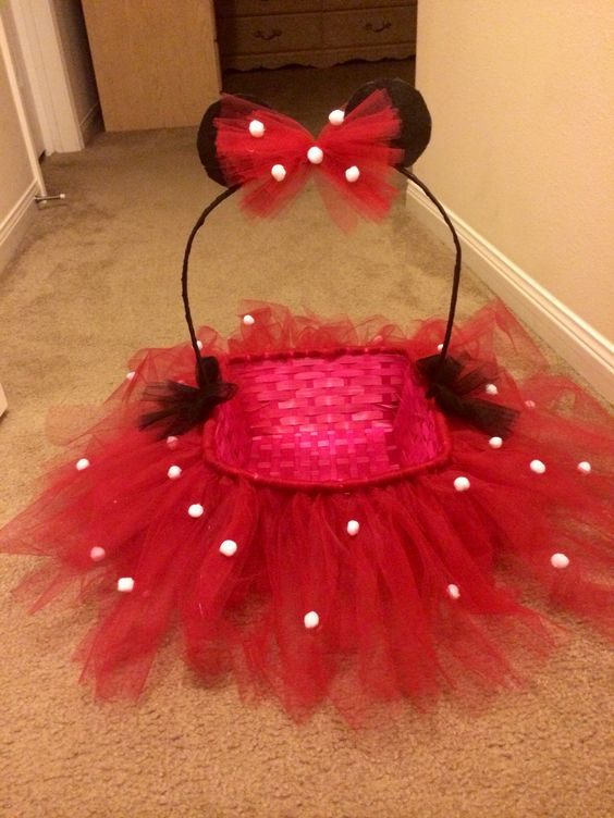 Tutu minnie easter basket