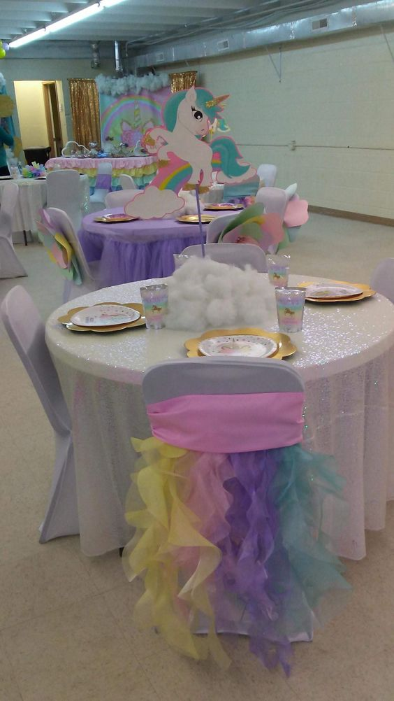 Unicorn Chair Decor