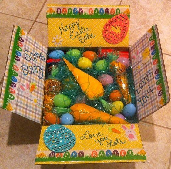 Easter Care Package #deployment #carepackage