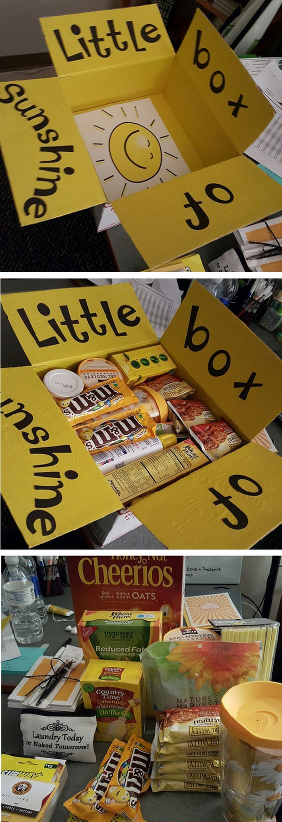 Little Box of Sunshine care package