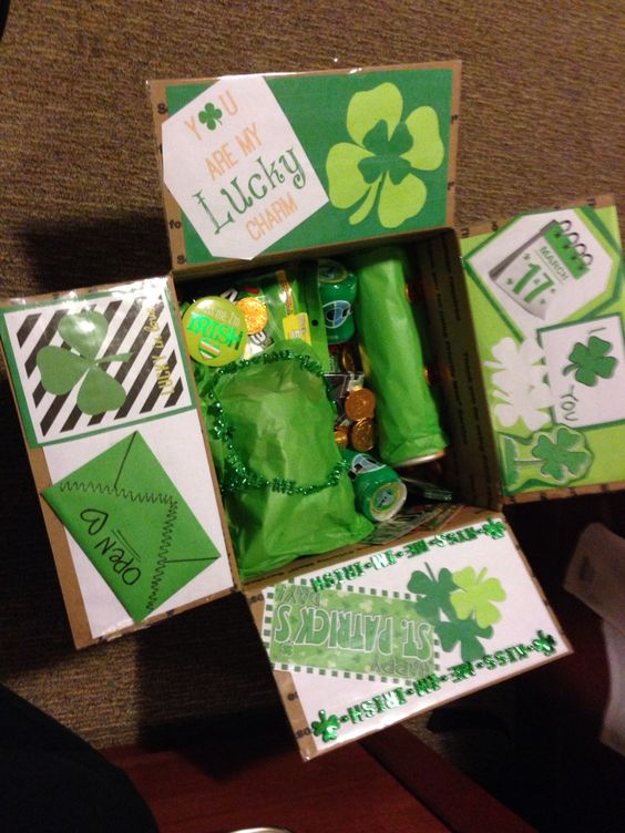 Saint Patrick's Day Care Package