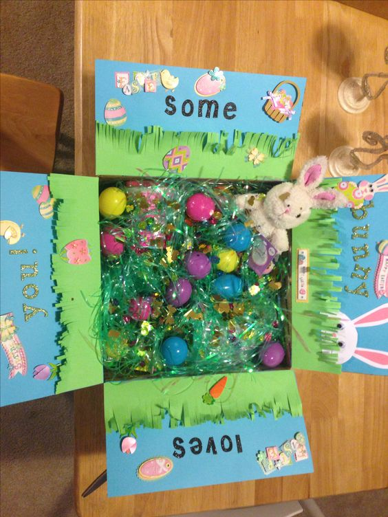 Some bunny loves you - Easter care package