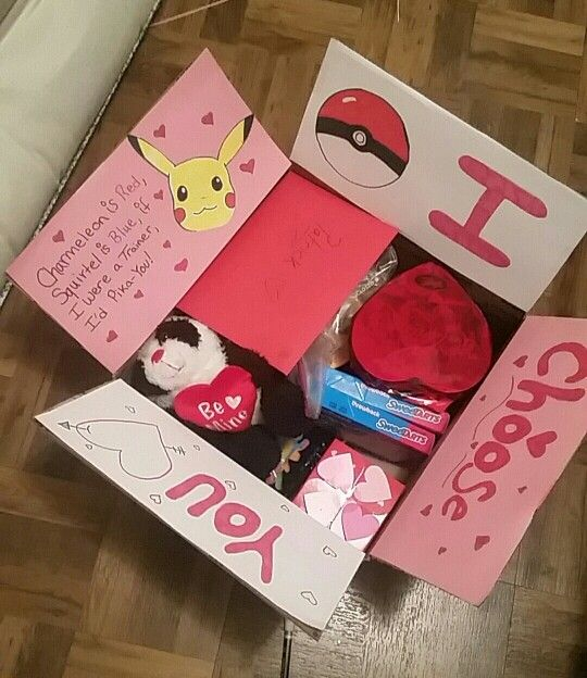 Valentines Day Care Package Ideas