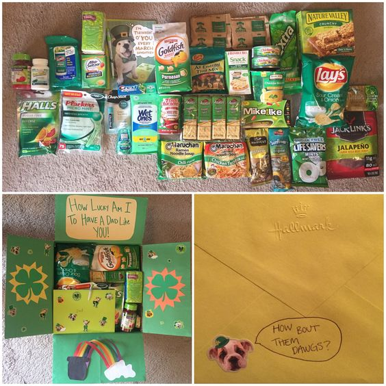St Patricks Day care package