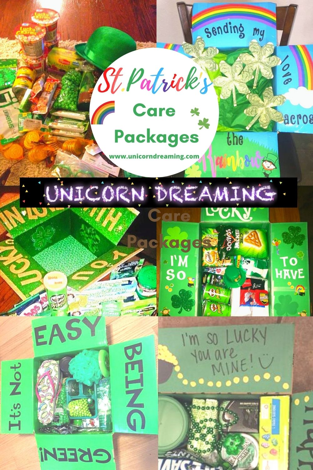 St Patricks Day Care Package Ideas