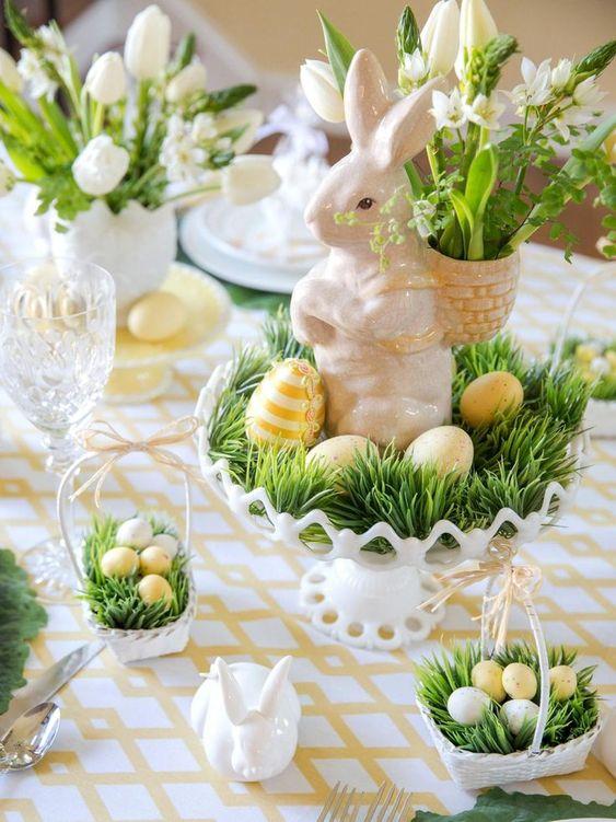 Easter Table Decor Ideas